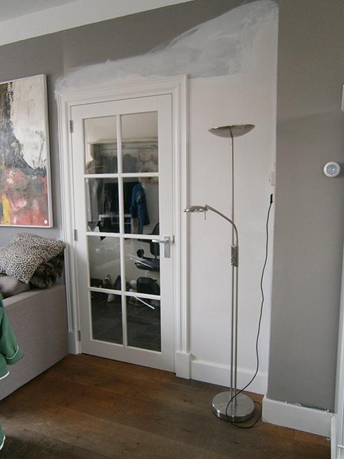 Deur Woonkamer: Woonkamer deur met glas authentieke buitenpui dubbele ...